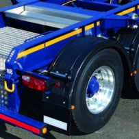 Poly Single Axle Fender Mounting System