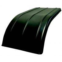 Short curve poly half tandem fenders